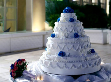 torta matrimonio sera mare