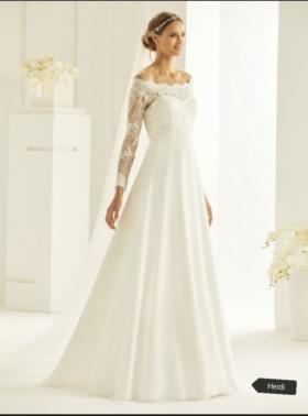 abiti sposa invernali heidi