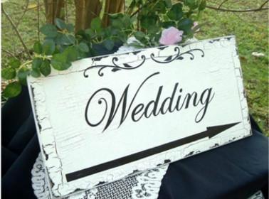 indicazioni matrimonio shabby