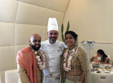 matrimonio indiano chef