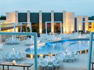 luxury wedding allestimento