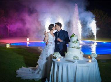 luxury wedding torta