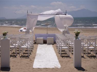 sposarsi spiaggia settembre rito