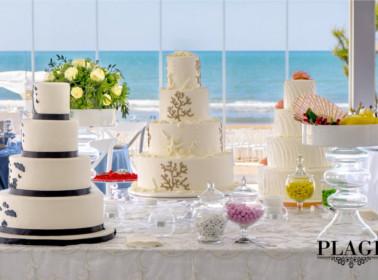 sposarsi spiaggia settembre torte