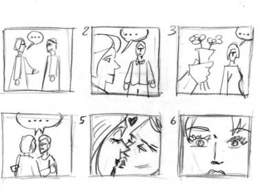 matrimonio fumetti vignette