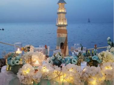 matrimonio tramonto allestimenti