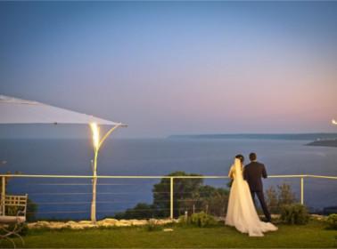matrimonio esclusivo tra la natura ed il mare