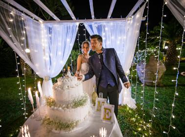 matrimonio-bianco oro sposi