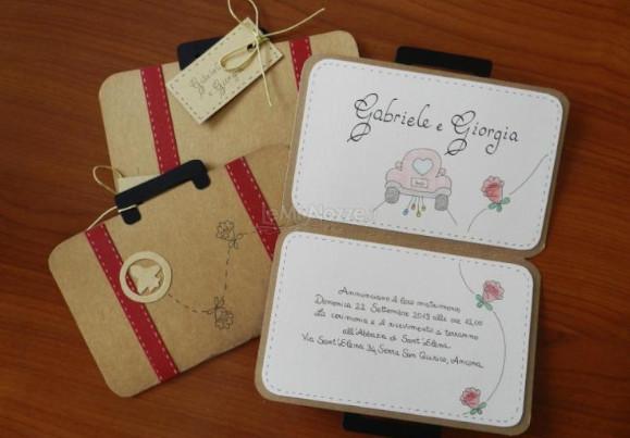 Partecipazioni Originali Per Matrimonio.5 Idee Per Partecipazioni Di Nozze Originali Lemienozze It