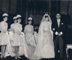 Il matrimonio in 50 anni di foto