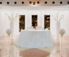 Grand Hotel Vigna Nocelli Ricevimenti -  Tavolo degli sposi