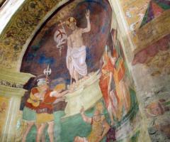 Abbazia di Sant'Andrea in Flumine - Affreschi della chiesa della location