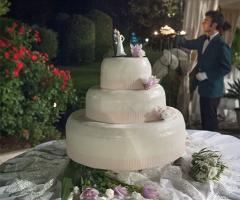 Bouganville Ricevimenti Potenza - La torta nuziale