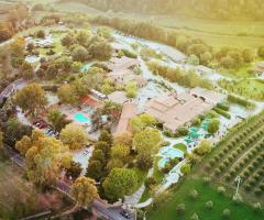 Villa Valente - La vista panoramica dall'alto