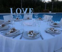 Villa Reale Ricevimenti - Il tavolo a bordo piscina