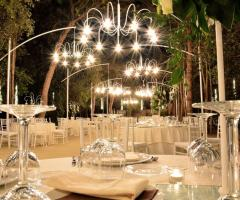 Villa Madama - Il ricevimento di nozze di sera