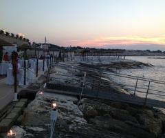 Lido Salsello Ricevimenti - Allestimento del ricevimento vista mare