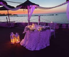 Lido Salsello Ricevimenti - Il tavolo degli sposi