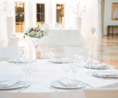 Grand Hotel Vigna Nocelli Ricevimenti - Allestimento in bianco