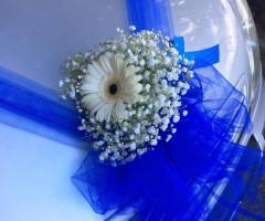 Insolito Fiori - La decorazione per l'auto degli sposi