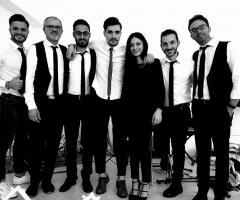 Metamorphosis Wedding Band - Foto di gruppo in bianco e nero