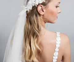 Max Mara Bridal - Velo sposa con ricami