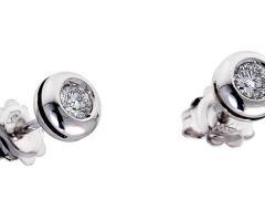 Orecchini puntoluce con diamanti