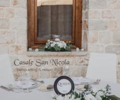 Casale San Nicola - In tavolo degli sposi