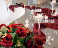 Lo Smeraldo Ricevimenti - Coreografia con le rose rosse