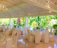 Villa Ciardi - Tavoli per il ricevimento di nozze