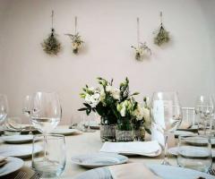 Villa Cenci - Il tavolo degli ospiti