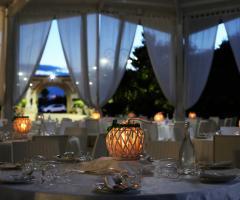 Villa Reale Ricevimenti - Centro tavola particolari