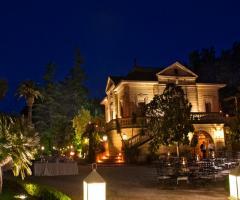 Villa Vergine - La villa in notturna
