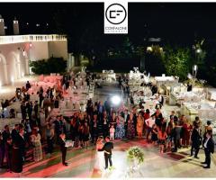 Villa Ciardi - La festa del matrimonio di sera