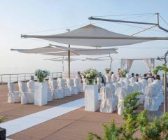 Grand Hotel Masseria Santa Lucia - Il rito civile sulla sabbia