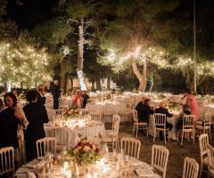 Villa Cenci - Il ricevimento di nozze di sera