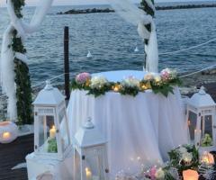 Lido Salsello Ricevimenti - La cerimonia civile sul mare