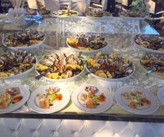 Il Vittoriano Ricevimenti - Il buffet degli antipasti