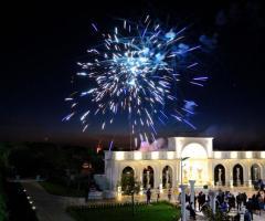 Tenuta Montenari - Fuochi d'artificio per gli sposi