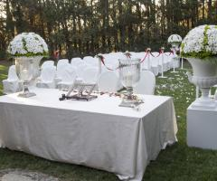 Villa Vergine - Cerimonia civile in giardino