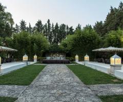 Villa Vergine - Il viale di ingresso