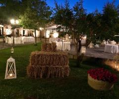 Masseria San Lorenzo - Dettagli di sera
