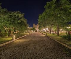 Masseria San Lorenzo - Vista -panoramica giardini