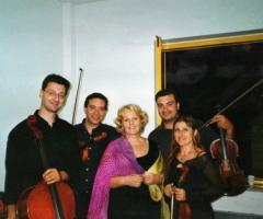 Quartetto d'archi Gershwin con Katia Ricciarelli