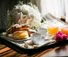 Casale San Nicola - La colazione degli sposi