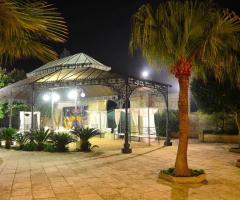 Tenuta Montenari - Gazebo per il ricevimento di matrimonio all'aperto