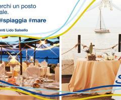 Lido Salsello Ricevimenti - Allestimento per un matrimonio in spiaggia