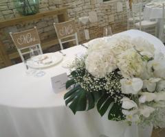 Masseria Bonelli - Il tavolo degli sposi