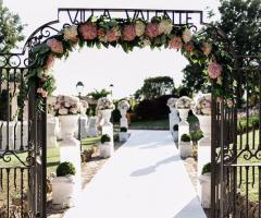 Villa Valente - Il cancello di entrata