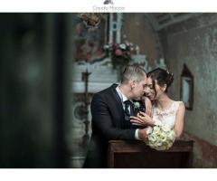 Masseria Luco - Gli sposi nella cappella